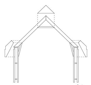 Structure d'une maison zéro carbone