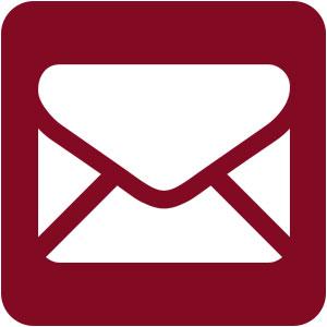 Icone de contact par email