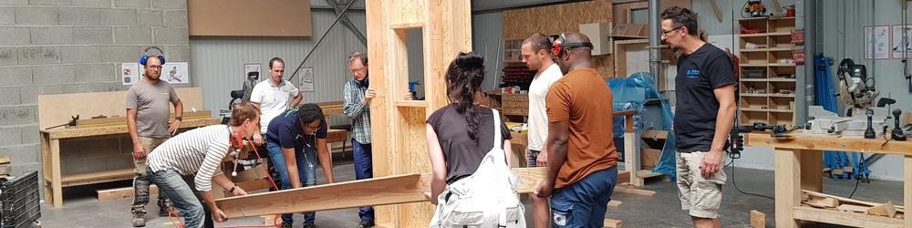 Comment est né le stage ossature bois de Ghara ?